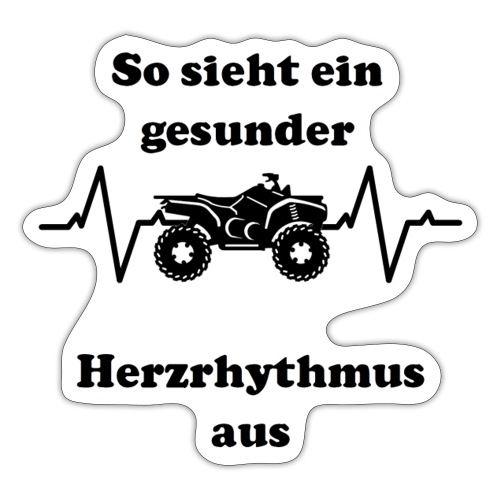 Herzrhytmus - Sticker