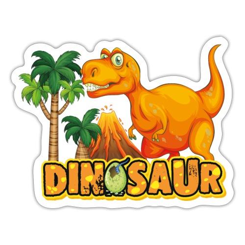 My Friend Dino - Pegatina