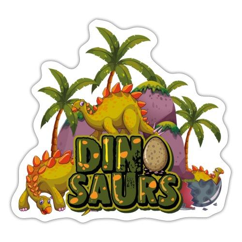 My Dinosaurs - Pegatina