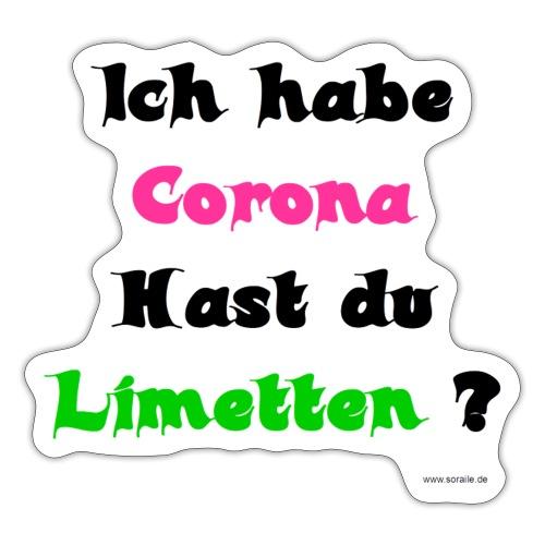 Corona Limetten - Sticker