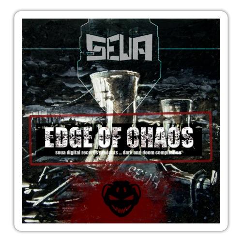 Edge Of Chaos Front cover - Klistermärke