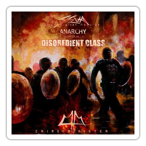 Crime1minister Anarchy3 Final EP - Klistermärke