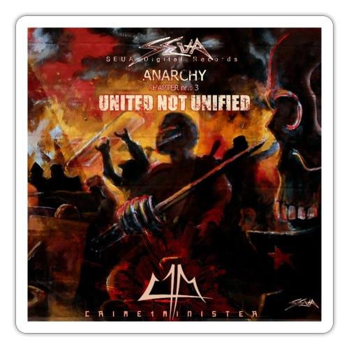 Crime1minister Anarchy Triology 3 - Klistermärke