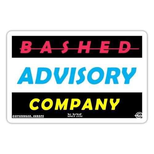 BASHED ADVISORY - Sticker
