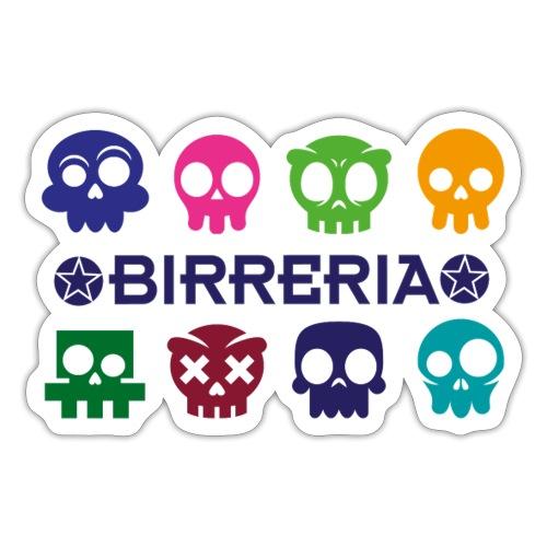 Kids color Skulls - Sticker
