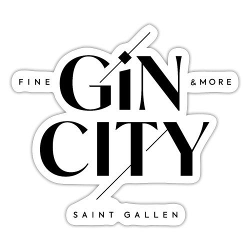 Gin City 2 - Sticker