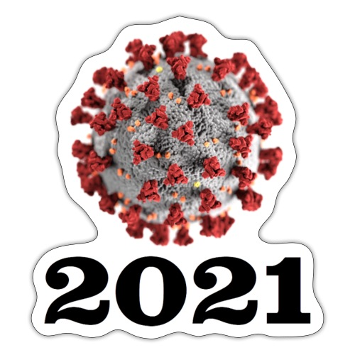 Virus 2021 - Sticker