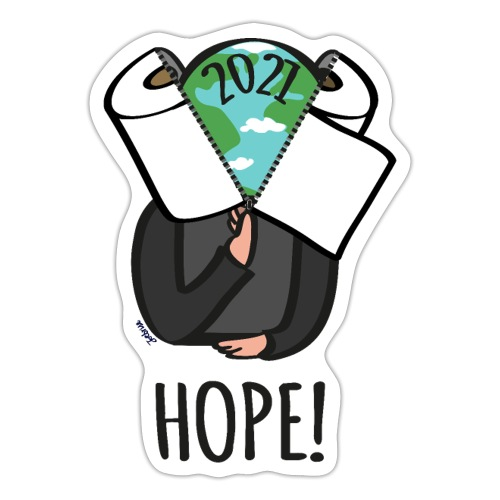 68 hope2021 - Sticker