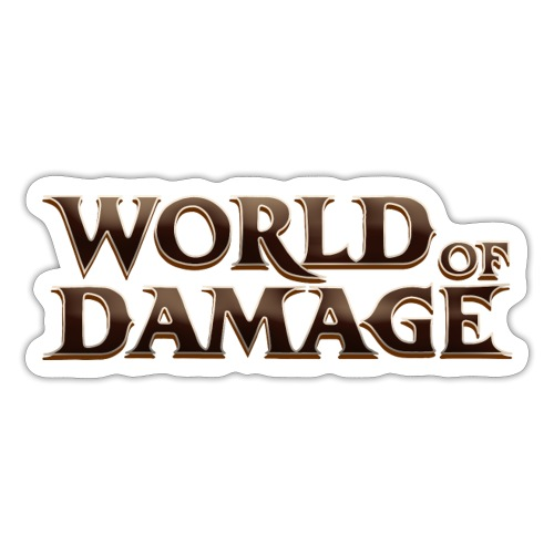 World Of Damage - Klistremerke