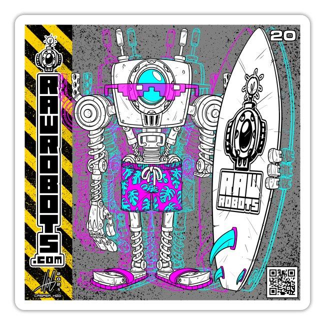The S.U.R.F. ´s Upload Robot!