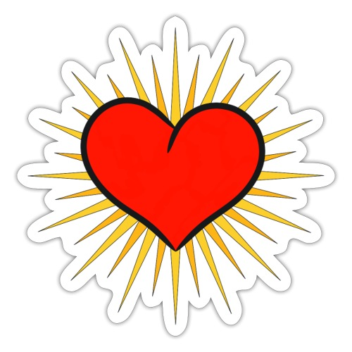 Heart - Pegatina