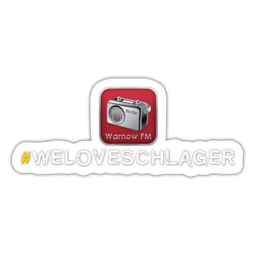 WeLoveSchlager 1 - Sticker