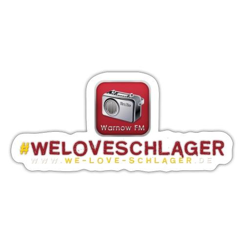 WeLoveSchlager de - Sticker