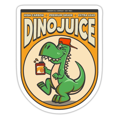 Dinojuice Sticker design - Tarra