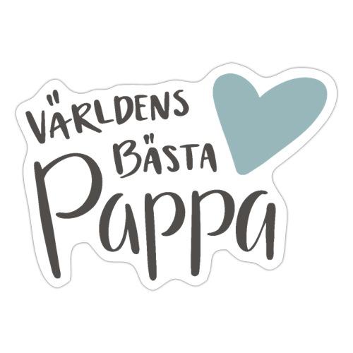 Världens bästa Pappa - NEW - Klistermärke