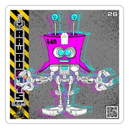 The B.O.X. Robot! (Basic Office Xerox)! - Sticker