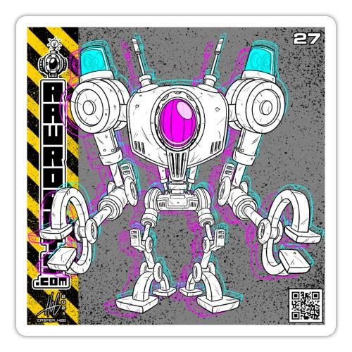 The L.I.G.H.T. Robot! - Sticker