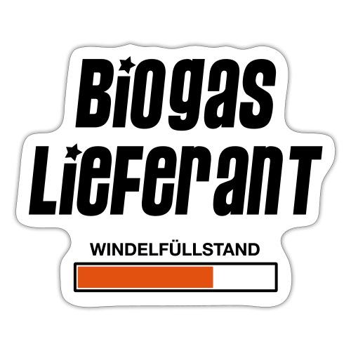 BIOGASLIEFERANT 01 - Sticker