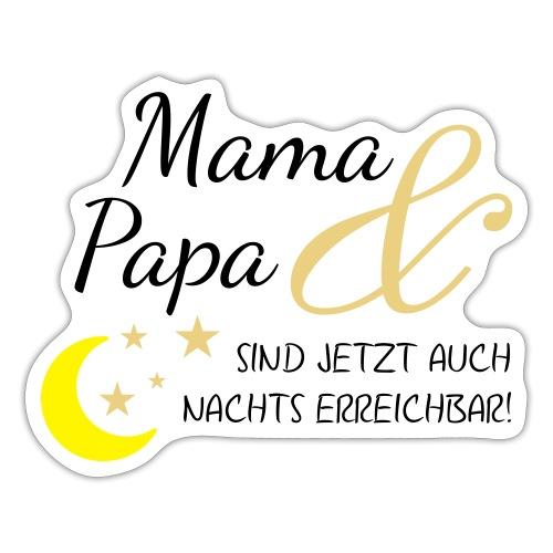 mama papa nachs erreichbar 01 - Sticker