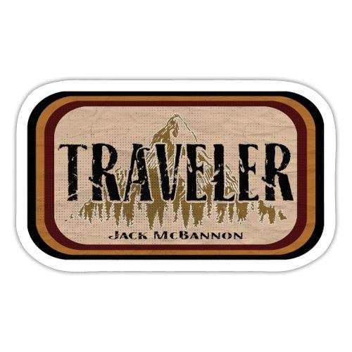 Jack McBannon -Traveler - Sticker