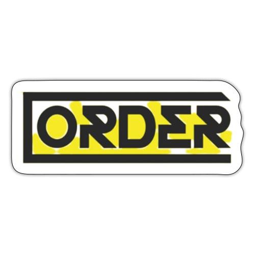 ORDER - Autocollant