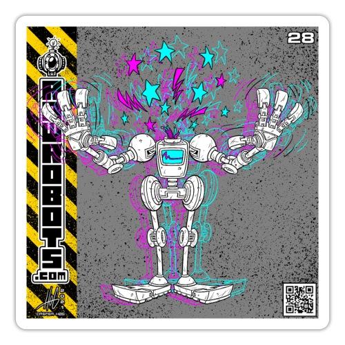 The L.O.S.T Robot! (Logical Organizer System Tota - Sticker