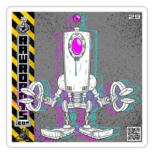 The D.R.O.P. Robot! - Sticker