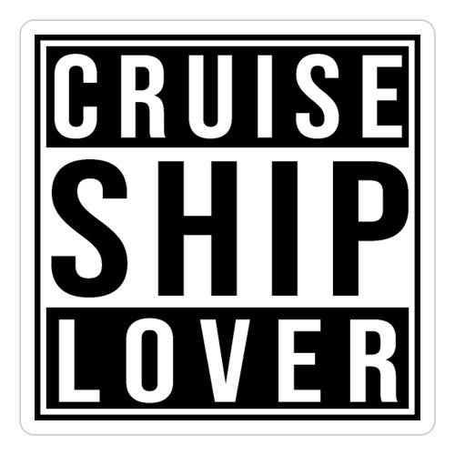 Kreuzfluenzer - Cruise Ship Lover - Sticker