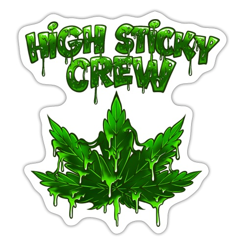 HIGH STICKY CREW - Collector - Autocollant