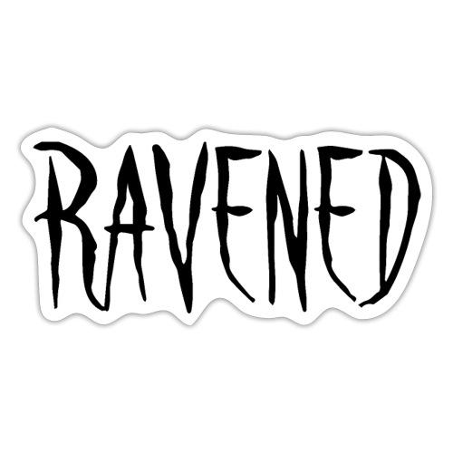 Ravened - Black logo - Sticker