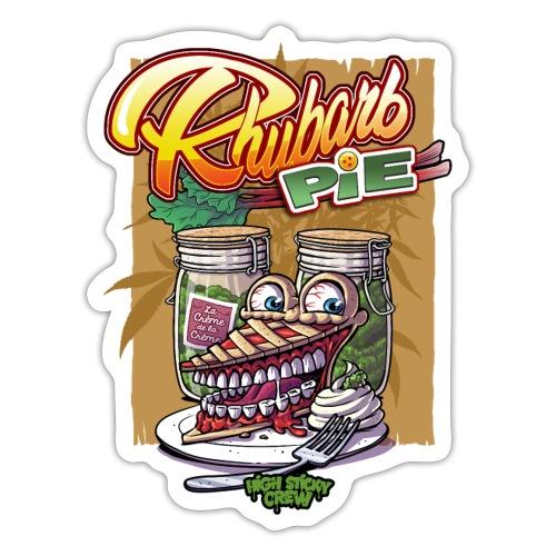 Rhubarb Pie - Accessoires - Autocollant