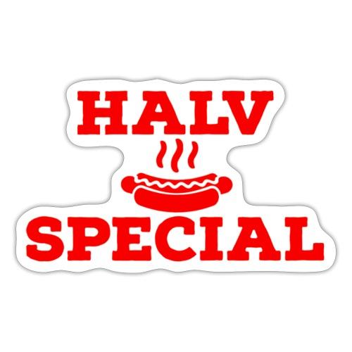 Halv special - Klistermärke