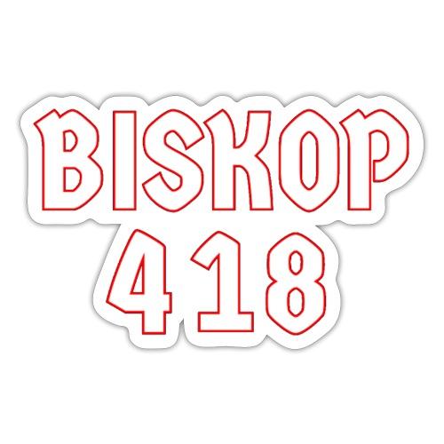 Biskop 418 - Klistermärke