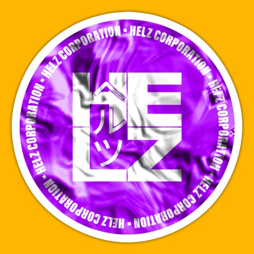 HELZ (Sticker Violet) - Autocollant