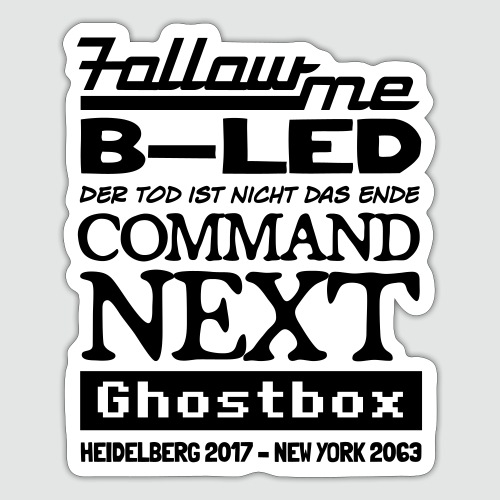 Ghostbox – Das Finale - Sticker