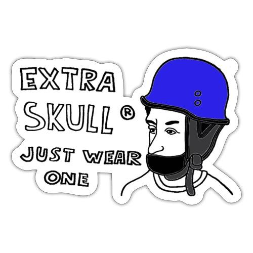 EXTRA SKULL - Sticker