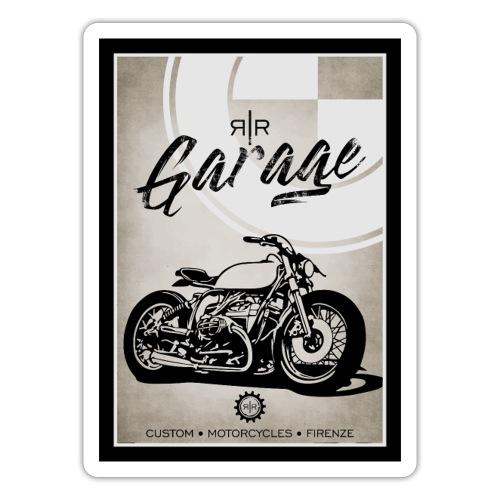 AIRCOOLED MOTORBIKE VINTAGE - Adesivo
