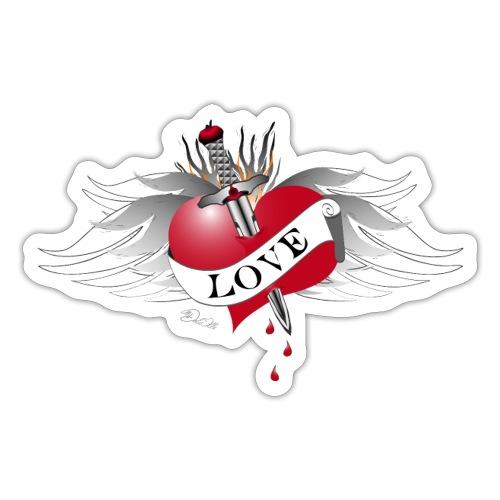 Love Hurts 4- Liebe verletzt - Sticker