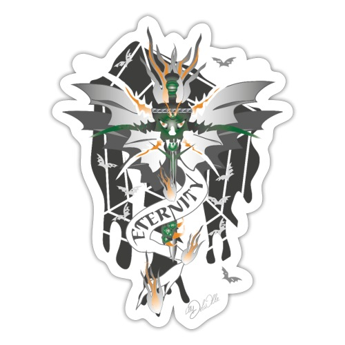 Dragon Sword - Eternity - Drachenschwert - Sticker