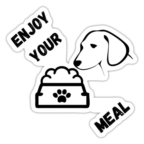 Enjoy your meal - Autocollant
