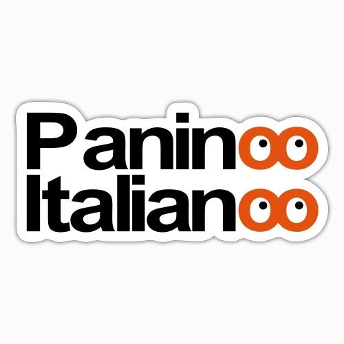 Paninoo Italianoo - Adesivo