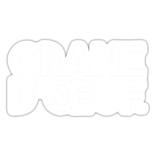 Logo Blanc - Autocollant