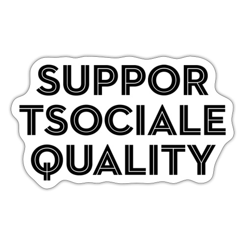 Support Social Equality - Sticker