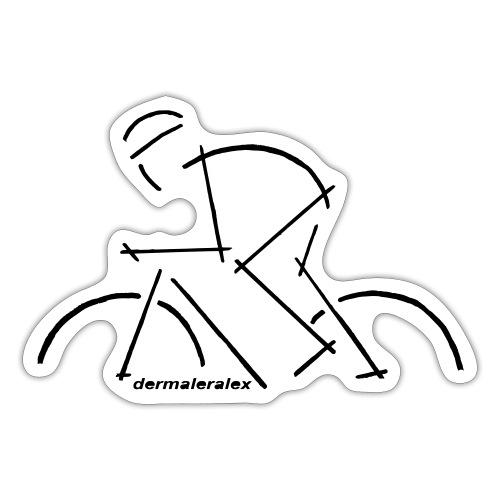 rennradfahrer - Sticker
