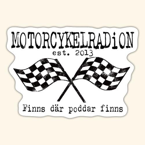 Motorcykelradion 2021 - Klistermärke