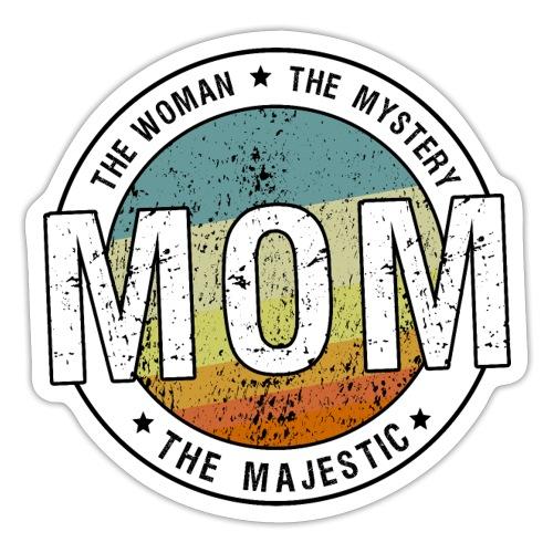 Mamma Kvinnan Mysteriumet Majestätisk - Retro - Klistermärke