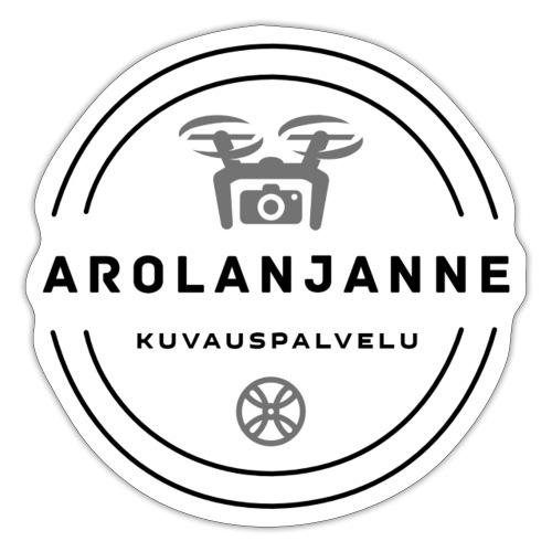 Janne Arola - kuva edessä - Tarra