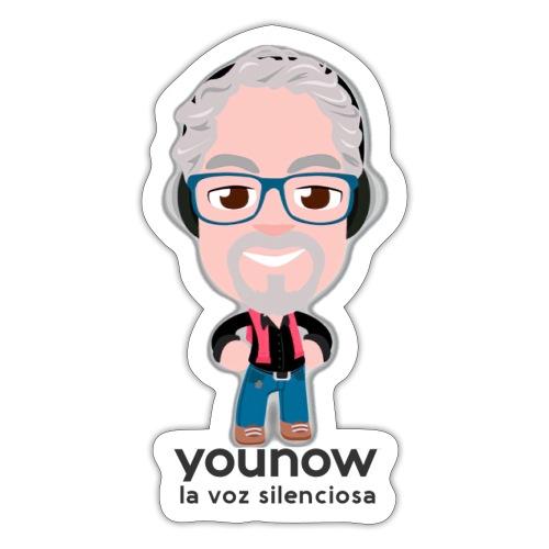 Younow - La voz silenciosa - Pegatina