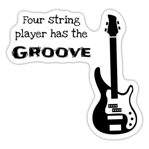 Bass guitar - Adesivo