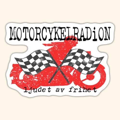 Motorcykelradion.se - Klistermärke
